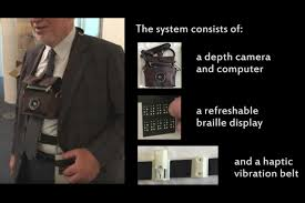 Writing System For The Blind Wearable System Helps Visually Impaired Users Navigate Mit News