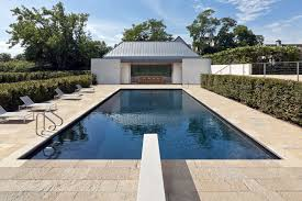 beautiful white glass wood modern design inside swimming pool cool
