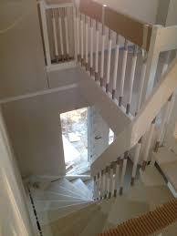 treppen derstappen letzte richtungswoche die hölzer werden weiß und die treppe kommt