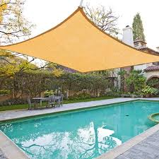 details about sun shade sail outdoor top canopy patio uv block
