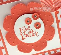 feel better cards floral frames feel better card stin pretty