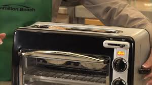 Hamilton Beach Two Slice Toaster Hamilton Beach Toastation Toaster U0026 Oven Black 22708