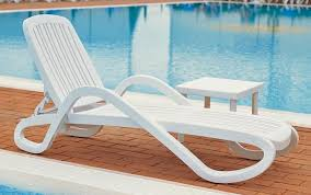 White Resin Lounge Chairs 12 In Seat Eden Resin Patio Chaise Lounge Chair With Arms Et U0026t