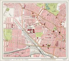 Stl Map An Old Map Of The Kirkdale Area Liverpool In 1928 As An Instant