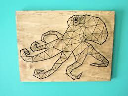 made to order string art octopus string art animal octopus