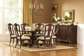 glamorous dining room furniture equipped elegant brown dining