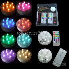 waterproof 9led candle light with remote use aaa