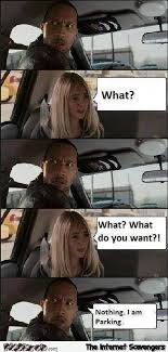Rock Driving Meme - funny the rock driving meme pmslweb