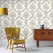 graham u0026 brown and gold opal damask wallpaper 101469