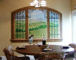 Dining Room Paintings by Wall Murals Gregory Arth