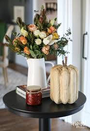 fall entertaining around my house tour inspired by charm