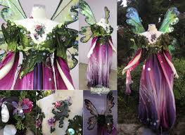 woodland fairy halloween costume flower inspired fairy gown fairy tale wedding dress firefly path