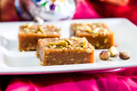 traditional gujarati mohanthal recipe gram flour fudge with nuts