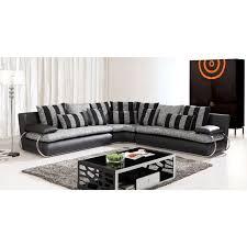 canapé d angle noir et gris canapé d angle noir et gris intérieur déco
