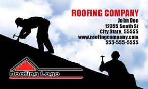 roofer business card designs roofer postcards door hangers