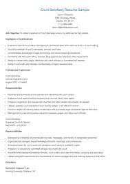 clerical work resume