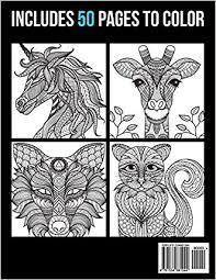 sale 2017 coloring books animal mandala designs