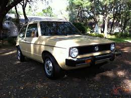 vintage volkswagen rabbit volkswagen rabbit c original unrestored mk1 vw golf