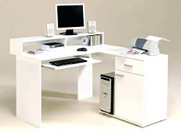 Computer Desk Plan White L Shaped Computer Desk Kgmcharters