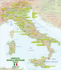 Ferrara Italy Map by Map Of Unesco World Heritage Italy Map In The Atlas Of The World