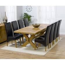 Discount Dining Room Tables Oak Dining Table And 8 Chairs Prepossessing Decor Stunning Ideas