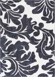 Black And White Modern Rug by Damask Rugs A Big Range Of Shapes Sizes Designs Well Woven