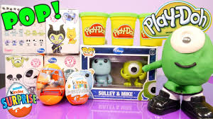disney mystery minis surprise toys monsters playdoh kinder