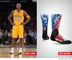 bryant turns nba socks here s why tmz