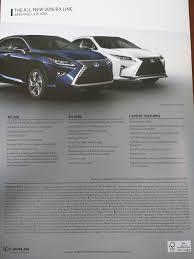 lexus gs430 torque rx pre release brochure clublexus lexus forum discussion