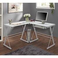 Walmart Glass Desk by Glass And Metal Corner Computer Desk From Walmart Furniture