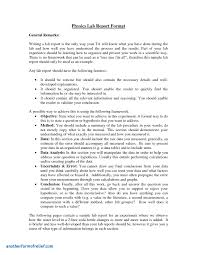 lab report conclusion template lab report conclusion template awesome physic lab report exles