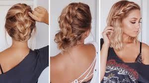 easy hairstyles for shoulder length hair hairstyle ideas 2017