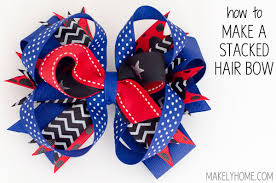 how to make hair bow how to make hair bows