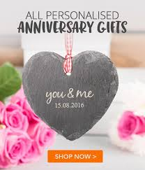 gifts for anniversary wedding anniversary gifts ideas gettingpersonal co uk