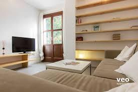 Wohnzimmerm El Royal Oak Apartment Mieten San José Alta Strasse Granada Spanien San José