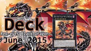 ygo duels deck red eyes black dragon all version abril 2015