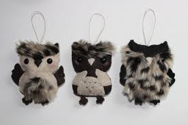 the newest handmade owl ornaments on my etsy what do you think