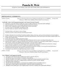 Resume Examples Server by Pamela D Weir Resume 1 2015 Rfp