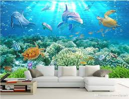 Wall Murals 3d Hd Underwater World 3d Backdrop Wall Mural 3d Wallpaper 3d Wall