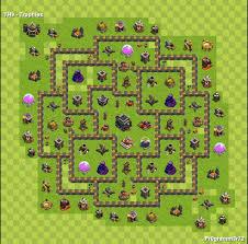 layout vila nivel 9 clash of clans centro da vila nivel 9 melhor layout clash of clans dicas
