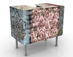 designer waschbeckenunterschrank waschbeckenunterschrank patterns vintage badschrank