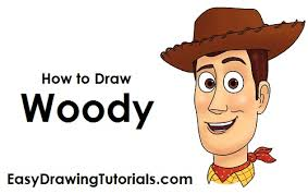 to draw woody