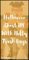 easy halloween ghost diy with hefty spit up and sit ups