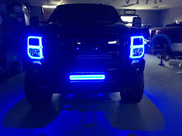 Led Blue Light Bar by Total Image Auto Sport Robinson Pa