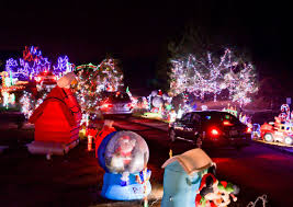 christmas lights longview tx carmela s mini santa land glows big at new location play news