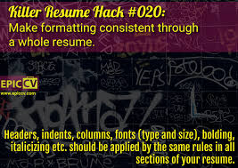 What Size Font For Resume 100 What Size Font Should A Resume Be How To Select A Font And