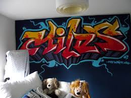 Kids Graffiti Bedrooms FRESH PAINT - Graffiti bedroom