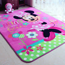 chambre fille minnie enfant fille minnie souris jeu tapis protection de