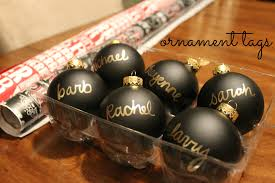 diy ornament tags as gold as it gets