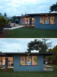 eichler home klopf architecture gave this eichler house an extension and a